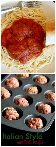 Italian Style meatballs that are unique and delicious, a crowd pleaser! You will never eat another homemade meatball recipe after you try this!