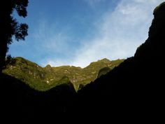 ...still almost arriving at the top (a walk throught the valley of Chão da Ribeira series)