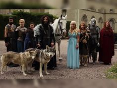 'Game of Thrones' Fans Pledge Their Love for the Show (and Each Other!) at the Altar