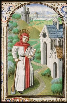 Image of St. Fiacre patron saint of syphilis