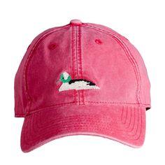 Duck Needlepoint Hat