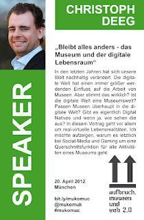 Christoph Deeg - Speaker @ #mukomuc & #scmuc12 //  http://scmuc.posterous.com