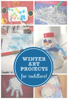 10 Winter Art Projects for Toddlers