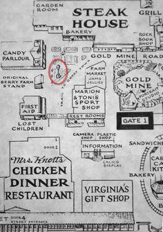 Knott's Berry Farm map