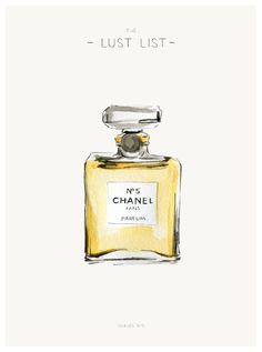 THE LUST LIST | CHANEL PERFUME