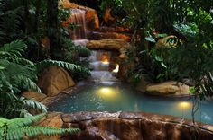 Arenal hot springs, Arenal, Costa Rica