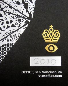 2010 Holiday Poster / #iconography #crown / Office