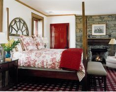 Bedroom Red Design, Pictures, Remodel, Decor and Ideas