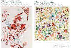 Free doodle stitching patterns