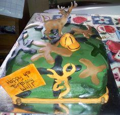 Camouflage cake#