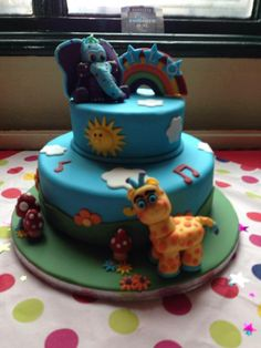 Awwww.... here's little boy Milo's first birthday cake! Shared by Danielle Olivia Tilley... so cute! We love it! #GBbirthday