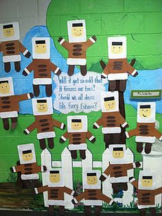 classroom, animals, idea, januari, winter bulletin boards, display, winter theme, preschool, first grade