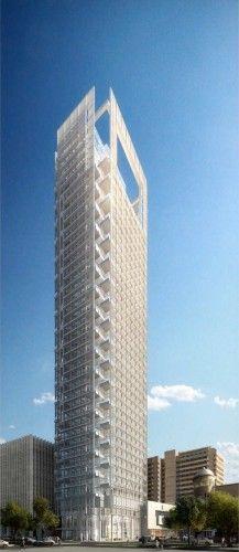 Rothschild Tower In Tel Aviv by Richard Meier & Partners