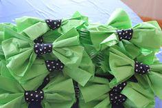 Little man baby shower- bowtie napkins