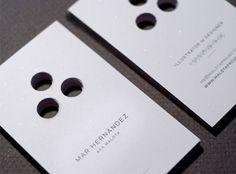 Unique, die cut business cards #printing #unique #innovative #diecut