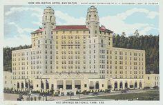 The Arlington Hotel, Hot Springs, AR