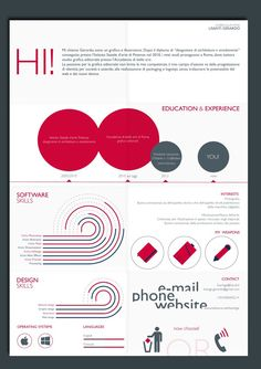 Looking for a graphic design job? Check out these 25 examples of creative resumes - Blog of Francesco Mugnai