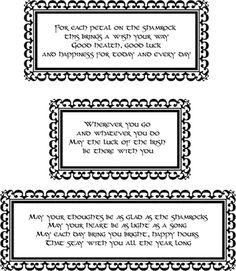 Printable Irish Blessings - free