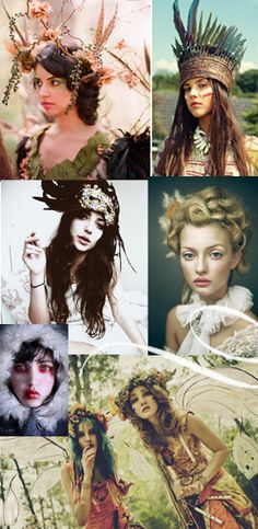 Head dresses galore... so obsessed!!!