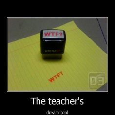 teacher gifts, school, student, dreams, the office, funni, papers, stamps, teachers
