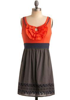 Love the bright orange.  I want.