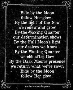 Full moon blessing