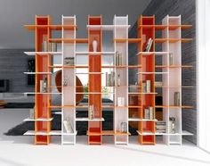 Open shelving makes a perfect room divider without closing off the space.