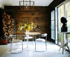 Modern Rustic with Bust