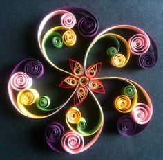 Quilling spiral