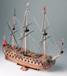 Corel Neptune 58 Gun Warship 1:190 Scale Wood Model Ship Kit - available from Hobbies, the UK's favourite online hobby store! www.alwayshobbies.com