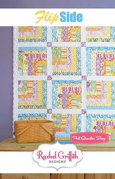WINNING PIN! Congratulations @Sarah N! Please send your full shipping info to chelsey[at]fatquartershop[dot]com! Flip Side Quilt Pattern Rachel Griffith  #FQSgiftguide