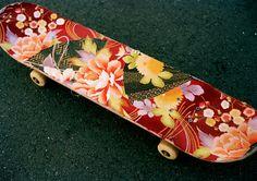 Gou Miyagi deck, the return of grip tape art via Studio Workout