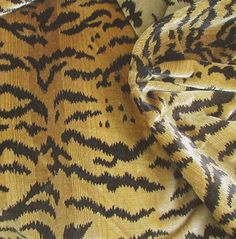 Scalamandre Tigre silk velvet