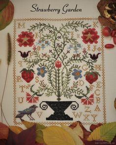 Barb adams quilter on pinterest blackbird designs house for Christmas garden blackbird designs