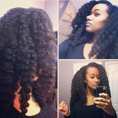 """Alex of The Good Hair Blog with the """"For Kurls"""" Collection! Doesn't this twist-out look beautiful?"""