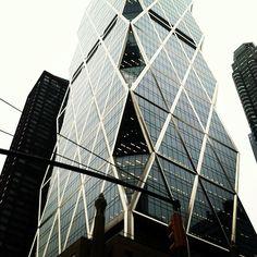 Hearst Tower Today: Jan. 9, 2013  (Instagram photo by @_fredkim_)