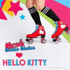 i need these!  Moxi Roller Skates Loves Hello Kitty