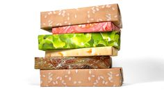 Cheeseburger wrapping paper!  I wish I saw this before Christmas.