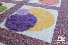 Scrappy Circle Quilt 2
