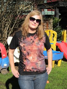 DIY: space t-shirts