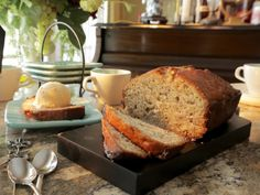 Bananas Foster Bread (from Southern at Heart)
