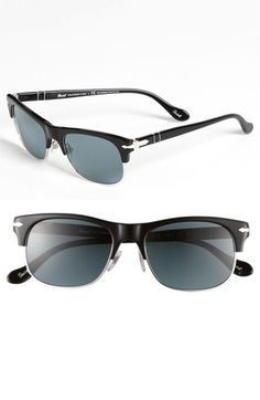 Persol 53mm 'Cello Clubmaster' Sunglasses available at #Nordstrom