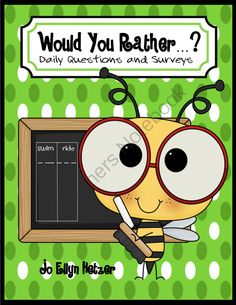 WOULD YOU RATHER ...? graphs, surveys, and data collection from The Primary Reader    on TeachersNotebook.com -  (17 pages)
