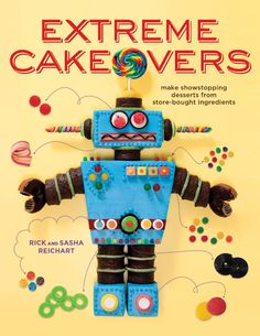 Extreme Cakeovers Book {Giveaway!}   sweetopia.net