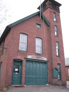 Brick Fire House with tower.....