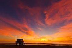Sunset at El Porto in Manhattan Beach