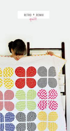 Ann Kelle | Retro + Remix Quilt (week of 4/22/2013)