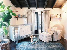 Corner crib | Lonny mag nursery