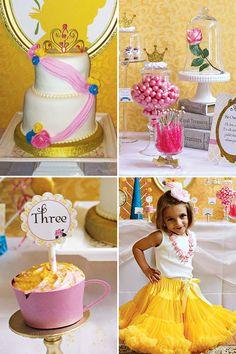 Fiesta inspirada en la princesa Bella