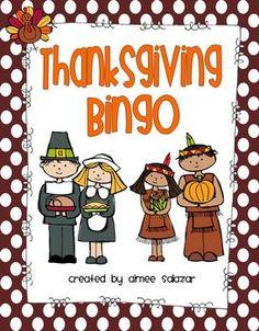 Thanksgiving Bingo {FREEBIE}